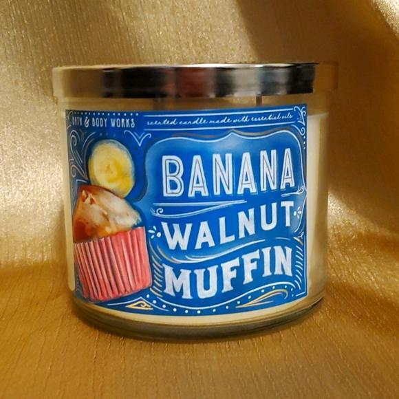 Banana Walnut Muffin BBW Candle